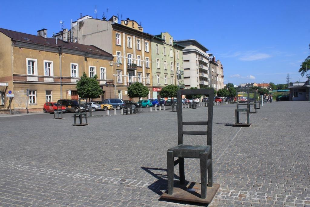 площадь героев Гетто в Кракове