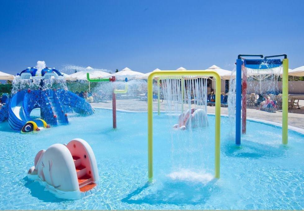 детская зона в аквапарке