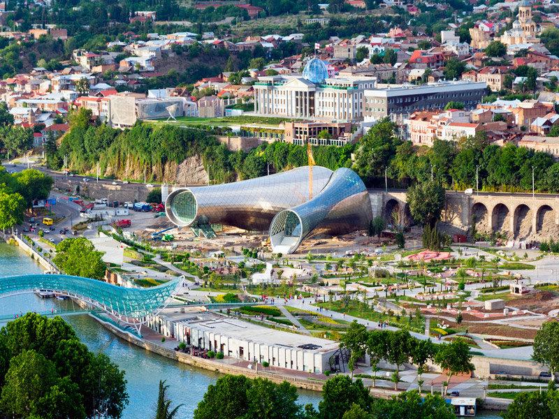 Рике-парк в Тбилиси
