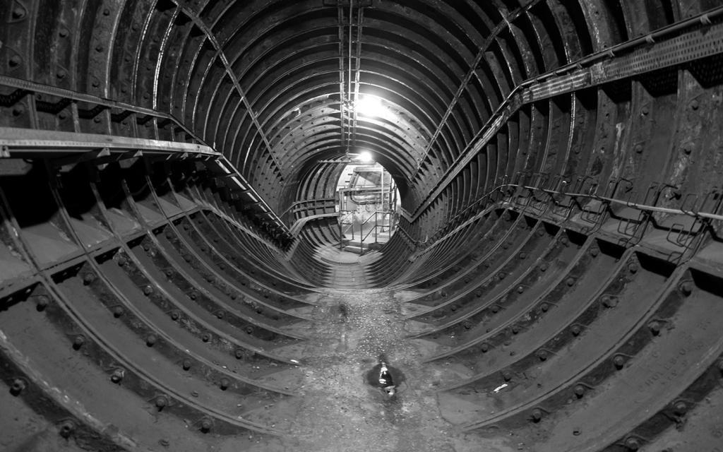 тоннель лондонского метро
