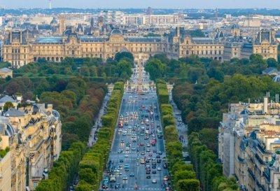 Елисейские поля в Париже: почему так называются, описание, отзывы туристов