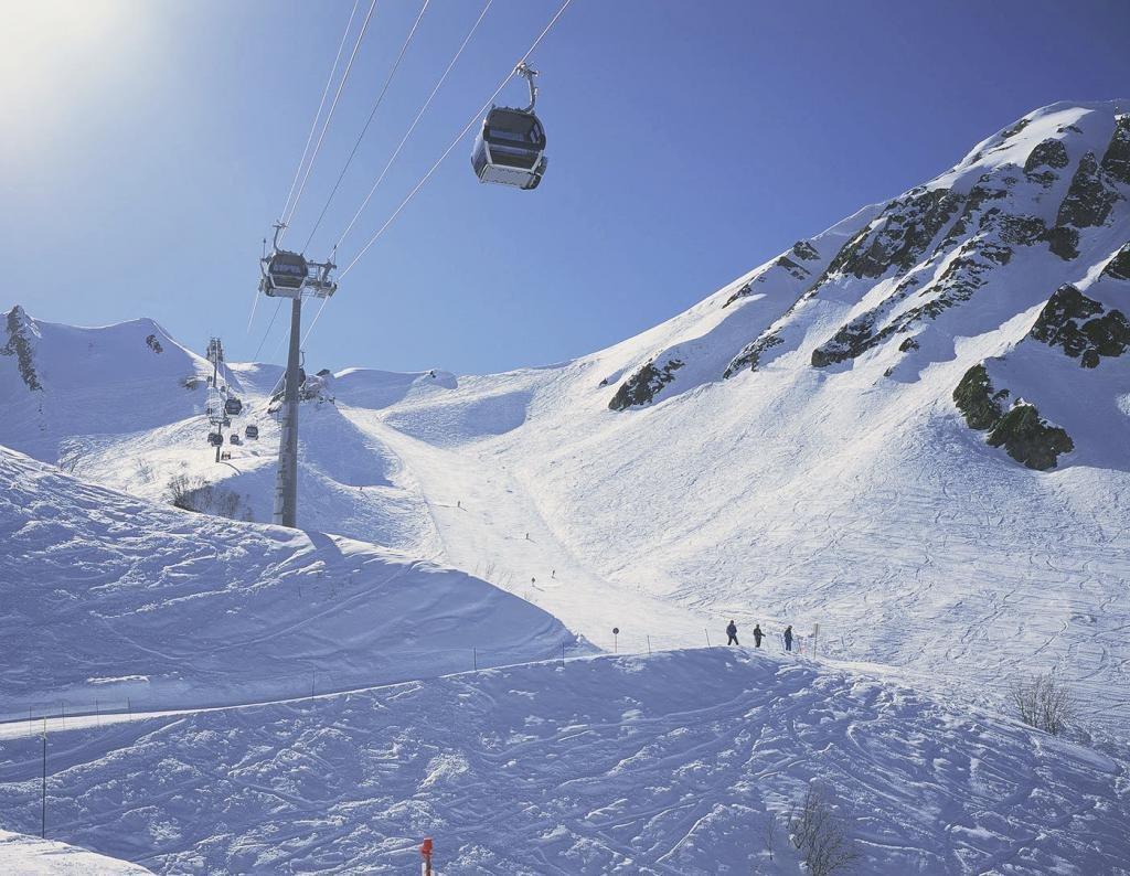 горнолыжный спуск