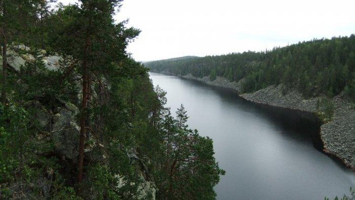 Карелия.Озеро Пизанец.