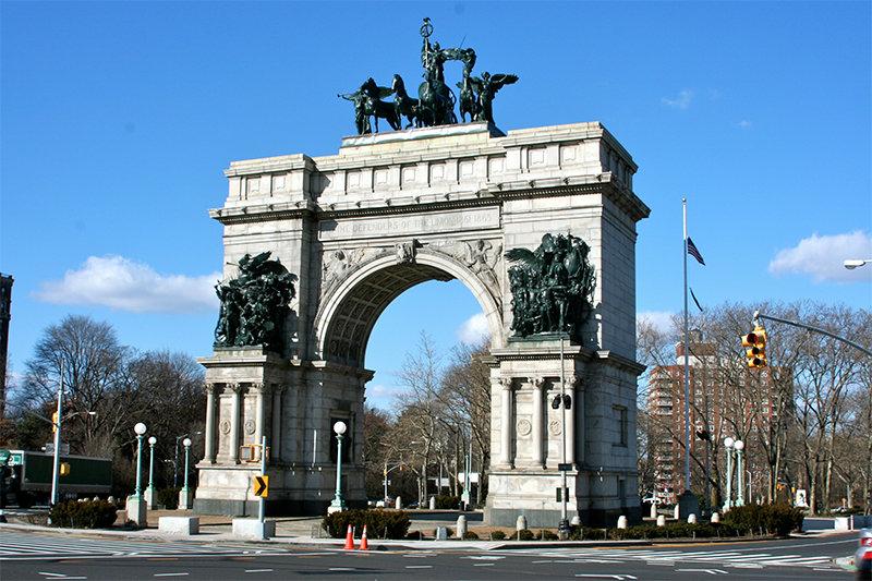 Триумфальная арка Нью-Йорка