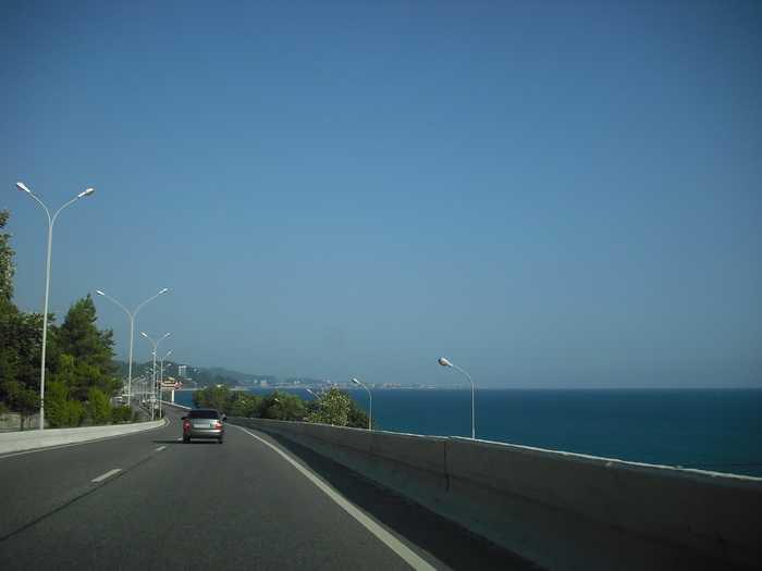 Путь из Адлера в Анапу: расстояние и способы перемещения