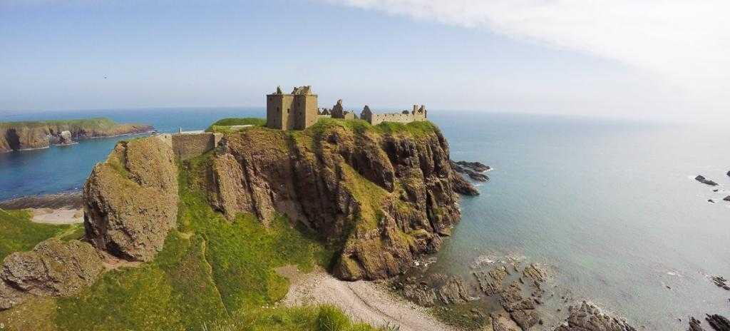 Замок Данноттар: драматическая история Шотландии