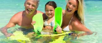 ❶ Отдых с детьми на море: важные моменты
