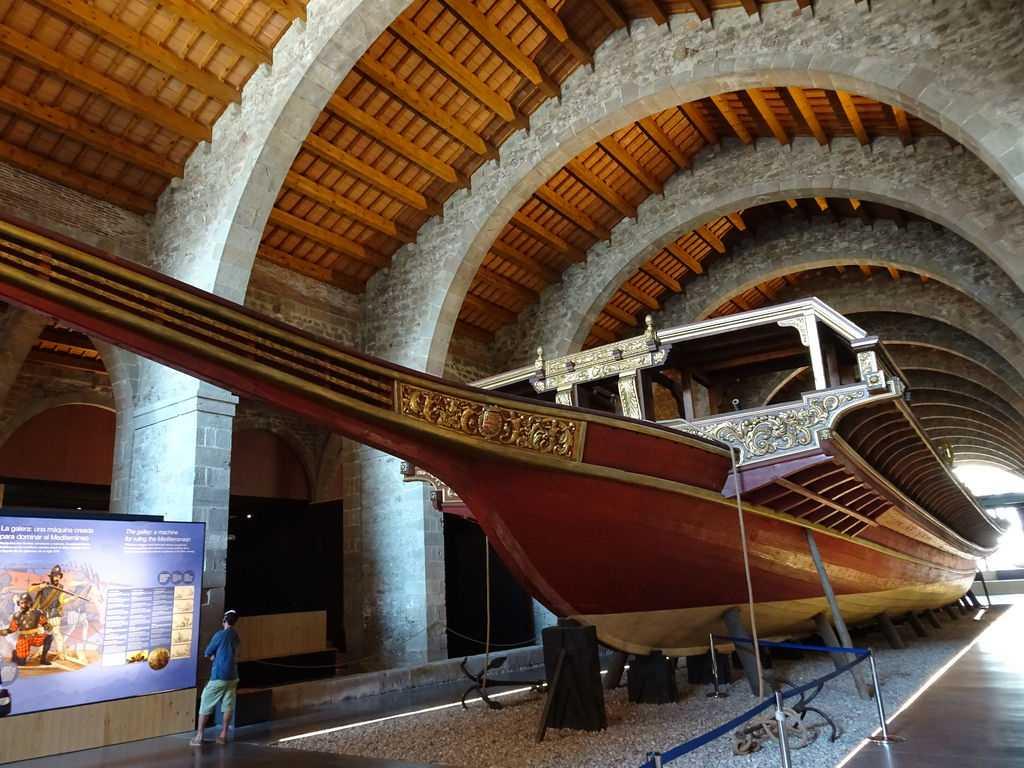 Морской музей в Барселоне: описание экспонатов, отзывы