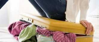 ❶ Как сложить вещи в чемодан