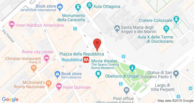 Удивительная красота площади Республики в Риме