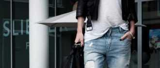 Что такое джинсы-бойфренды? Что носить с джинсами-бойфрендами?